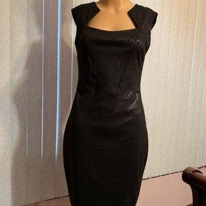 Cache Black Dress Size 2